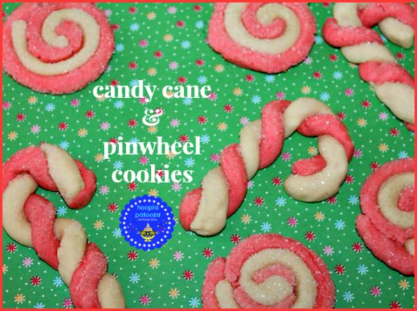 Candy Cane & Pinwheel Cookies