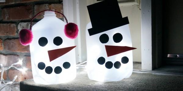 light up snowmen