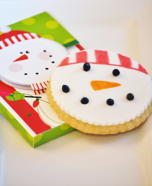 Decorate sugar cookies using edible markers