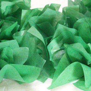 Christmas Kids Craft: Tissue Paper Wreaths