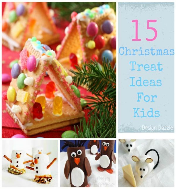 Christmas Treat Ideas for Kids - Design Dazzle