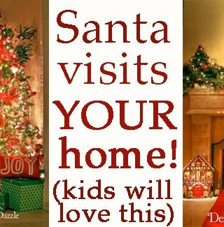 Awesome Fun: Santa Visits Your Home