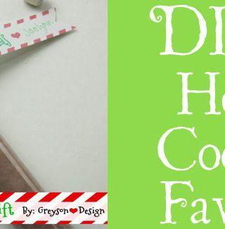 DIY Hot Cocoa Favor Gift