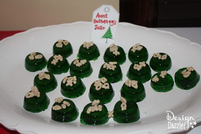Christmas Vacation Party - Griswold Style Aunt Bethany's Cat Food Jello! Design Dazzle