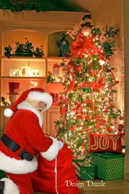 Awesome Fun Santa Visits Your Home Design Dazzle