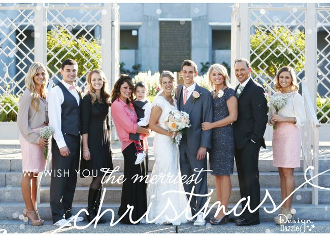 Sending you Christmas greetings from my family to yours! | Design Dazzle