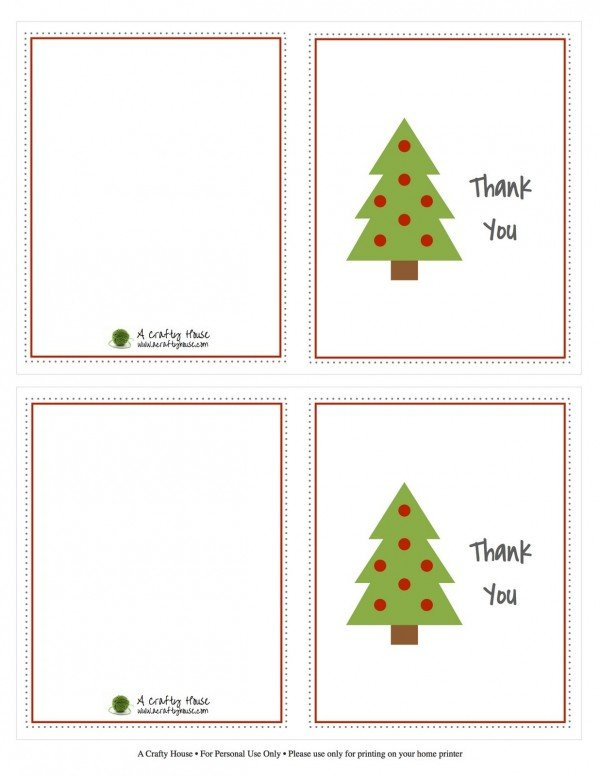 free thank you printable kids cards