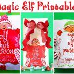Elf Ideas and Free Printables