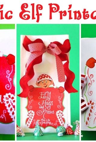 Elf Ideas and Free Printables