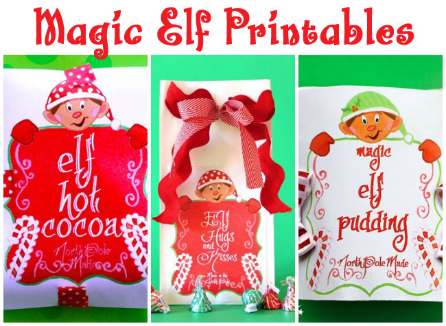 Magic Elf Printables - Design Dazzle #elfideas, #elfprintables