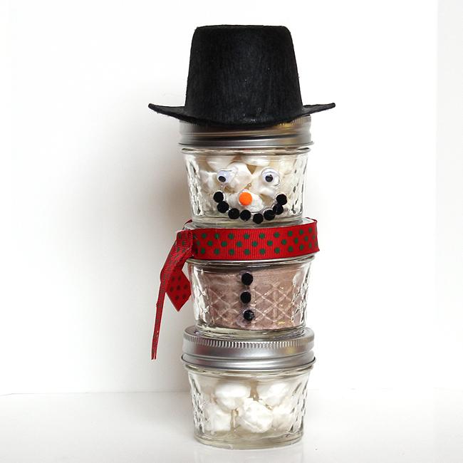 snowmen hot cocoa