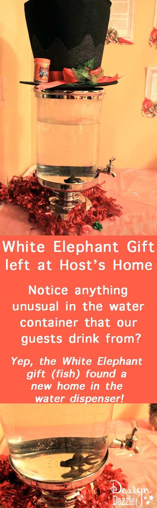 White Elephant Gift Exchange Prank - Design Dazzle
