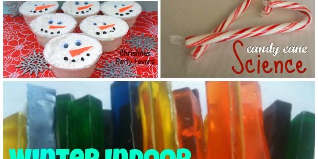 Winter Indoor Crafts & Activites for Kids