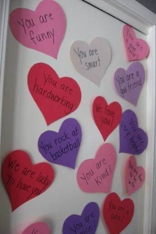 valentine love notes