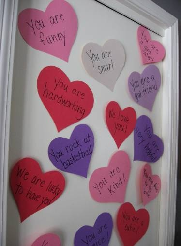 Valentines Love Notes to show your sweetheart that you LOVE them! Cute and inexpensive way to make Love Day special!