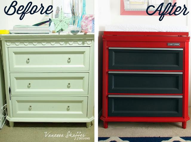 Before After Dresser