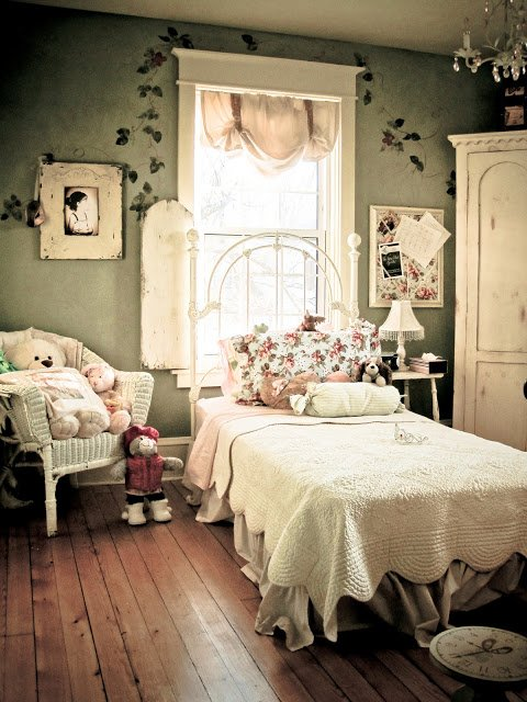 Garden Inspired Girls Rooms