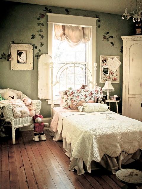 Garden Inspired Girls Rooms