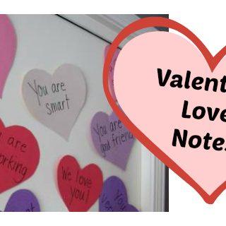 Valentine Love Notes