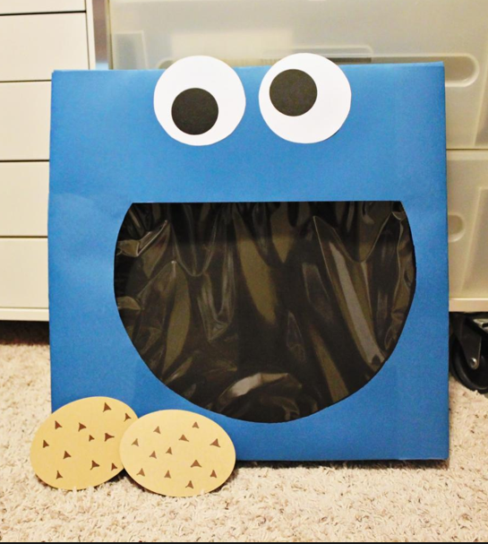 Valentine's Day Card Box Cookie Monster