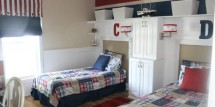 Pottery Barn inspired boys room