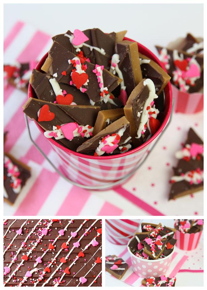 Valentine's Day Toffee