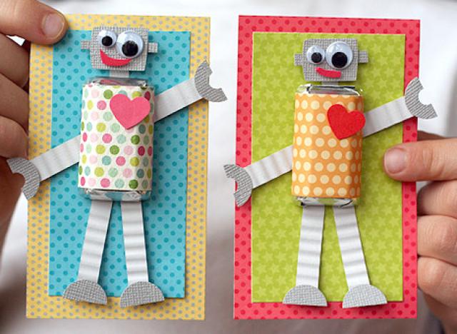 Роботы своими руками для мальчиков