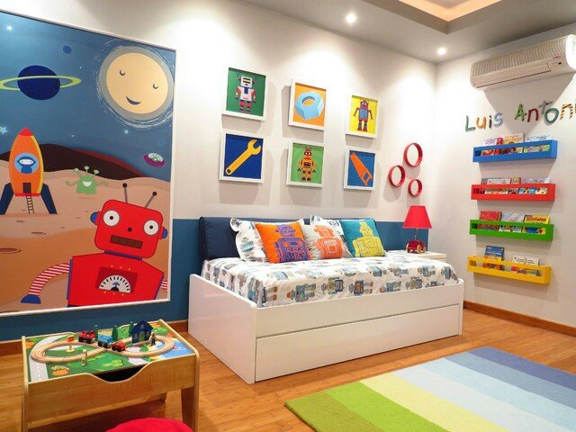 Robot room ideas design dazzle for Robot room decor