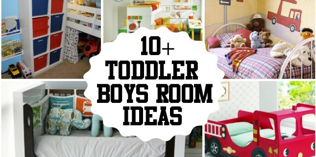 Toddler Boy Bed Ideas: Boys Toddler Room Ideas