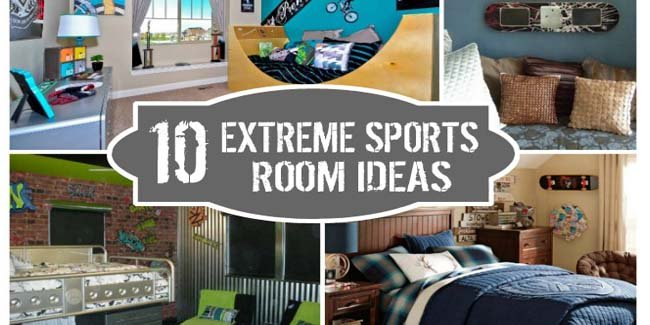 Extreme Sports Bedroom Ideas - Design Dazzle