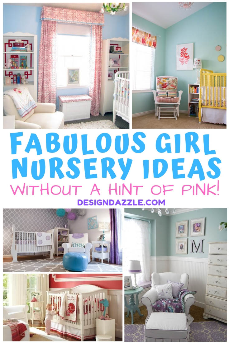 Baby Girl Nursery Decor You can have a fabulous girl nursery for your baby girl without a hint