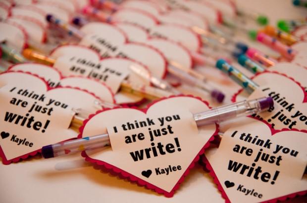 no candy valentines for kids  design dazzle