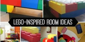 Lego inspired room ideas