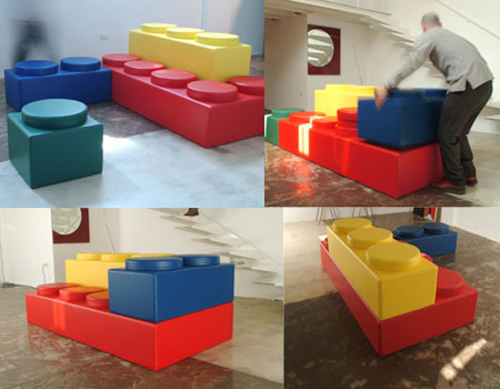 lego sofa. More Lego Room Ideas   Design Dazzle