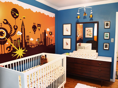 Robot Room Ideas Design Dazzle