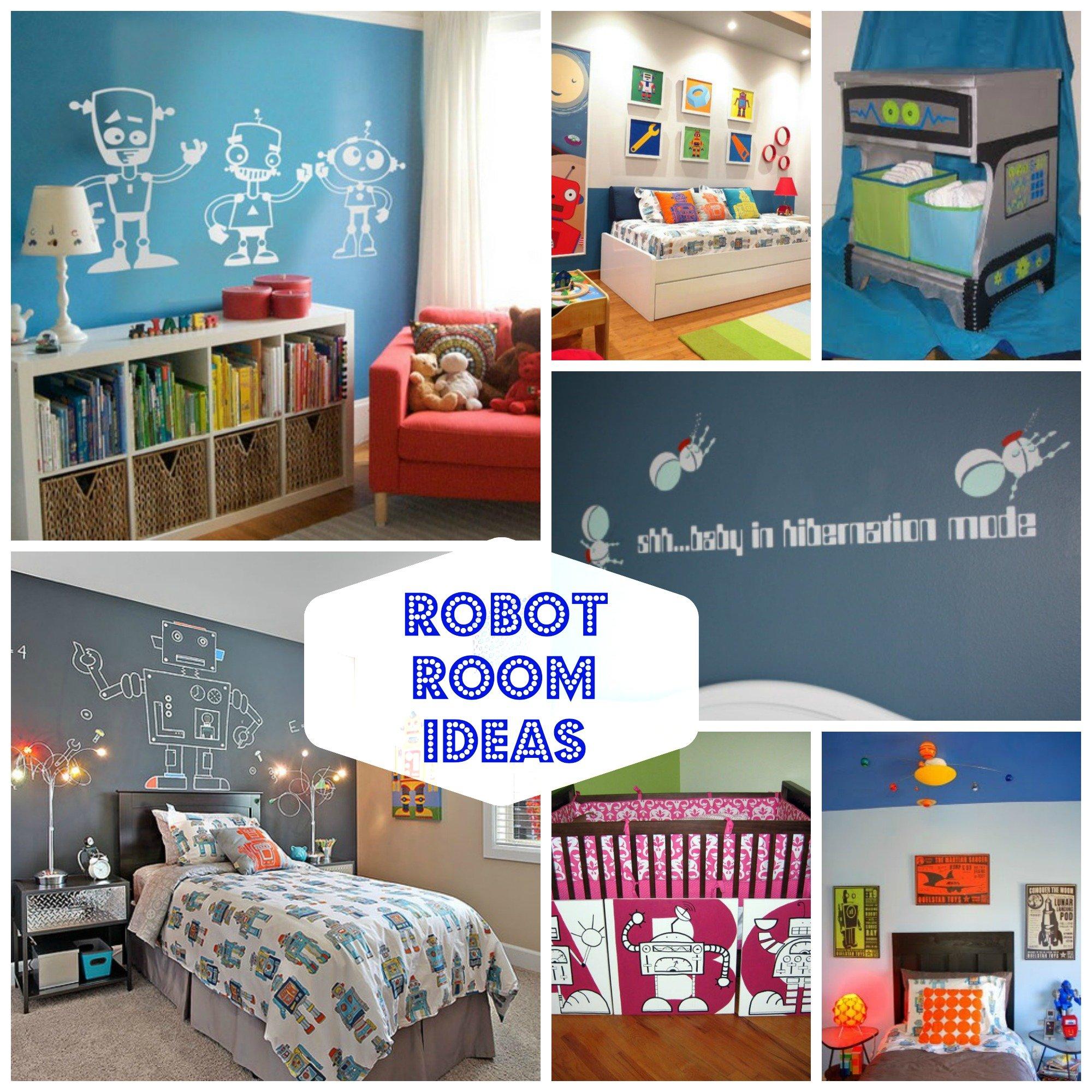 Robot room ideas design dazzle for Robot bedroom