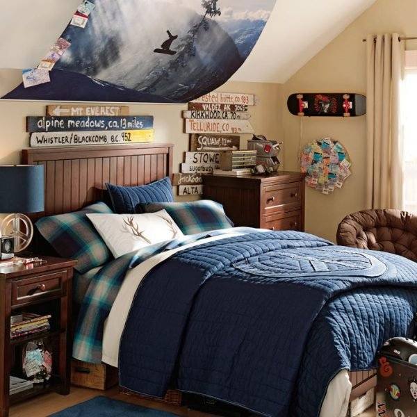 Extreme sports bedroom ideas design dazzle for Boys bedroom ideas