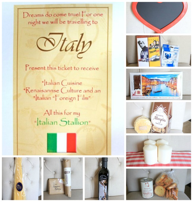 valentine gift basket - Design Dazzle