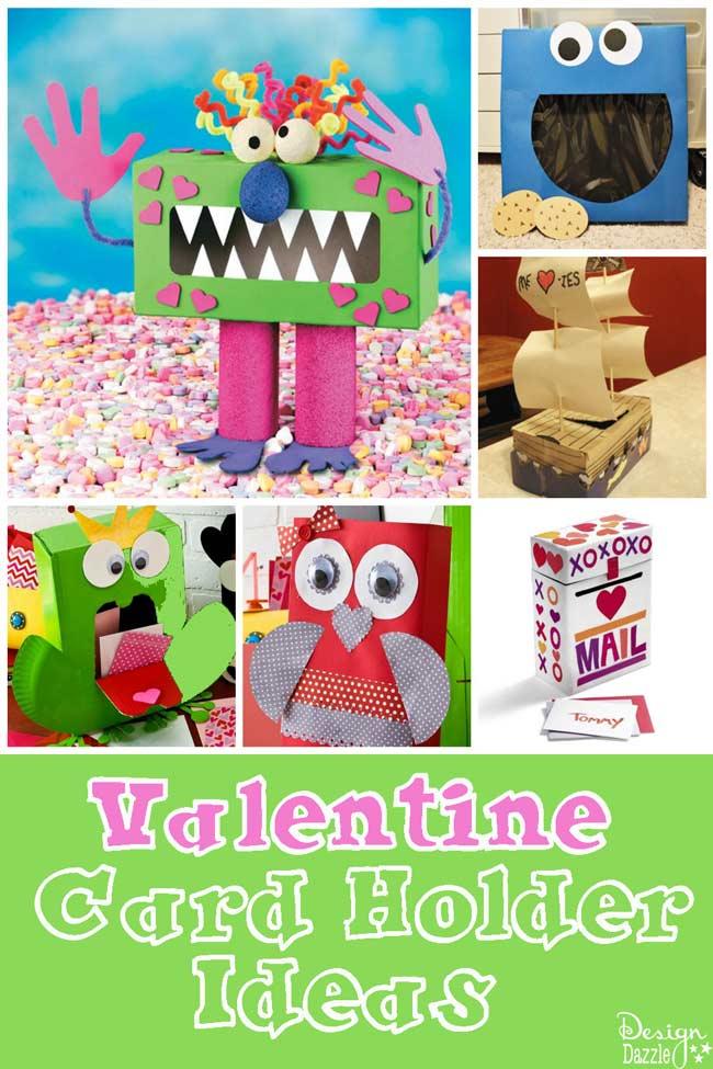 Valentine Card Holders - Design Dazzle