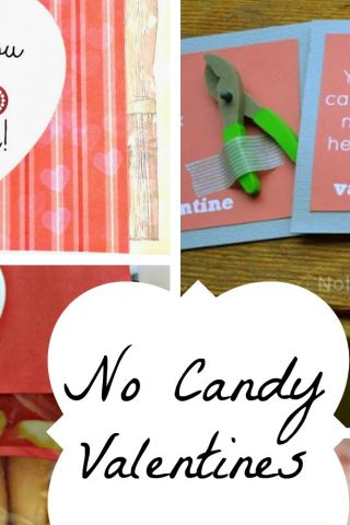No Candy Valentines for Kids