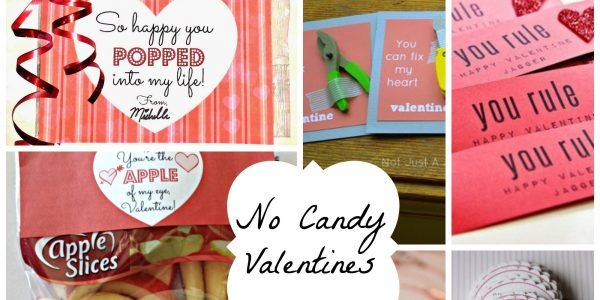 no candy valentines