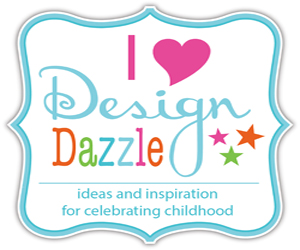 I Heart Design Dazzle button 300x250