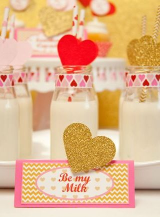 Valentine Party: Will You Be The Milk To My Cookies?