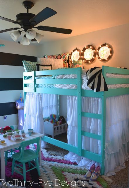 Fun funky girls room design dazzle for Funky girl bedroom ideas