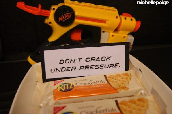 Nerf crackers