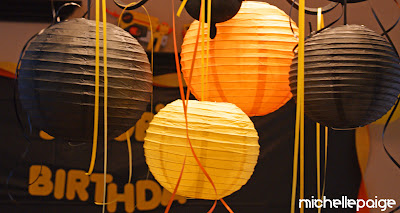 Nerf party paper lanterns