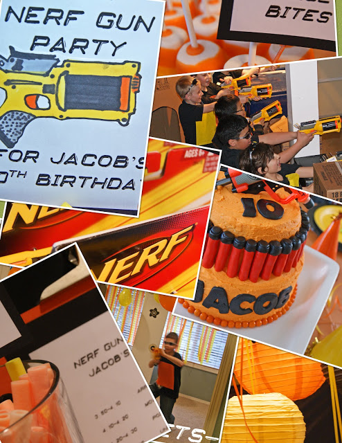 The coolest Nerf Gun Party on the block. Kids will go nuts for this awesome party!!