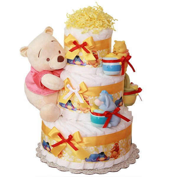 Unique Baby Diaper Cake Ideas