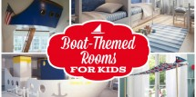 Boat themed rooms for kids