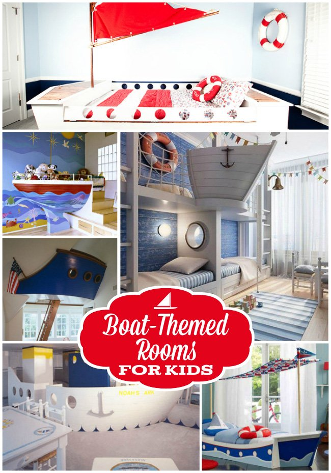 25 amazing boat rooms for kids